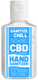 Get 1 free Sanitize & Chill CBD hand sanitizer with any purchase of $100 or more!