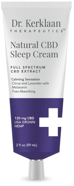 Natural CBD Sleep Cream