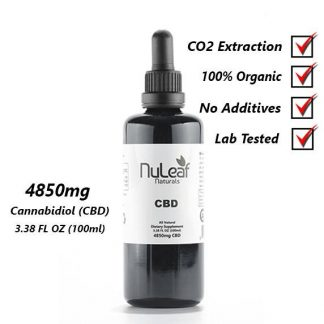 4850 mg Full Spectrum CBD Oil, High Grade Hemp Extract (50mg/ml) 3-Pack