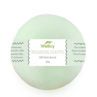 100mg Invigorating Eucalyptus CBD Bath Bomb -