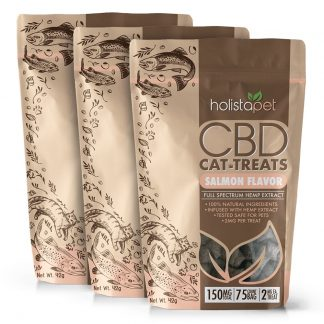 Bundle & Save: 3 Bags CBD Cat Treats 150mg – 2mg Per Treat