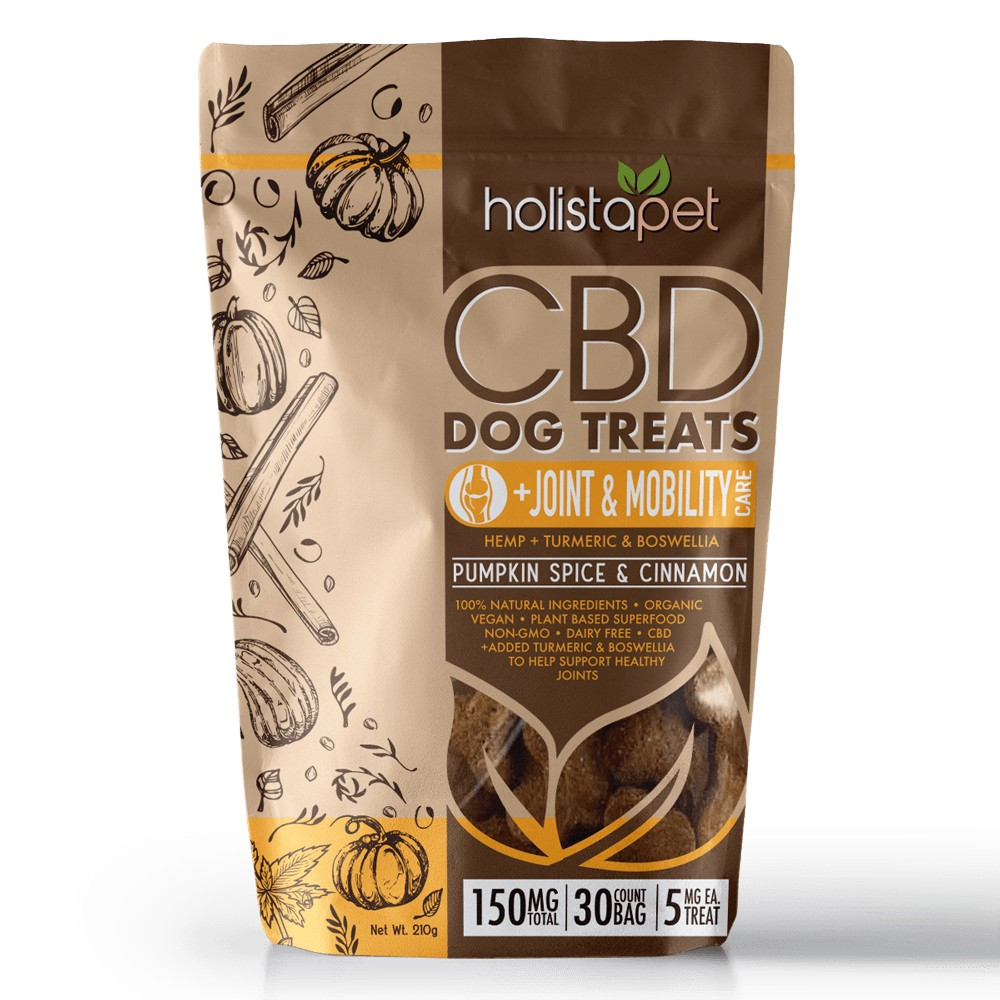 HolistaPet Joint and Mobility CBD Dog Treats - CBD Dog Treats +Joint & Mobility Care