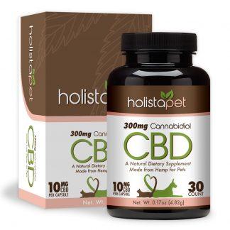 holistapet cbd pet capsules 300mg 324x324 - CBD Pet Capsules 300mg