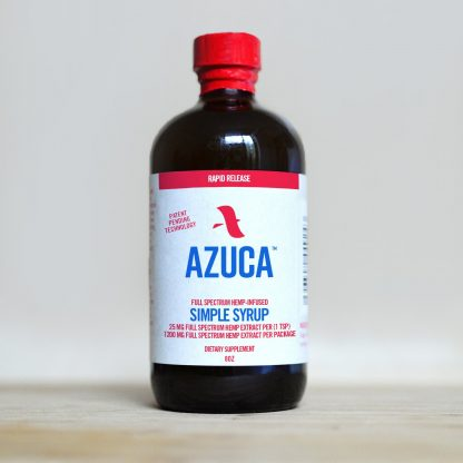 1200mg Azuca Simple Syrup (8oz)