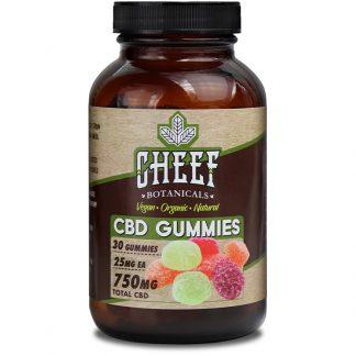 Vegan CBD Gummies 750mg – Full Spectrum