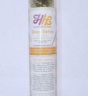 Healthy Honeys Deep Detox Bath Salts