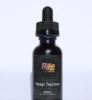 Healthy Honeys Hemp Tincture