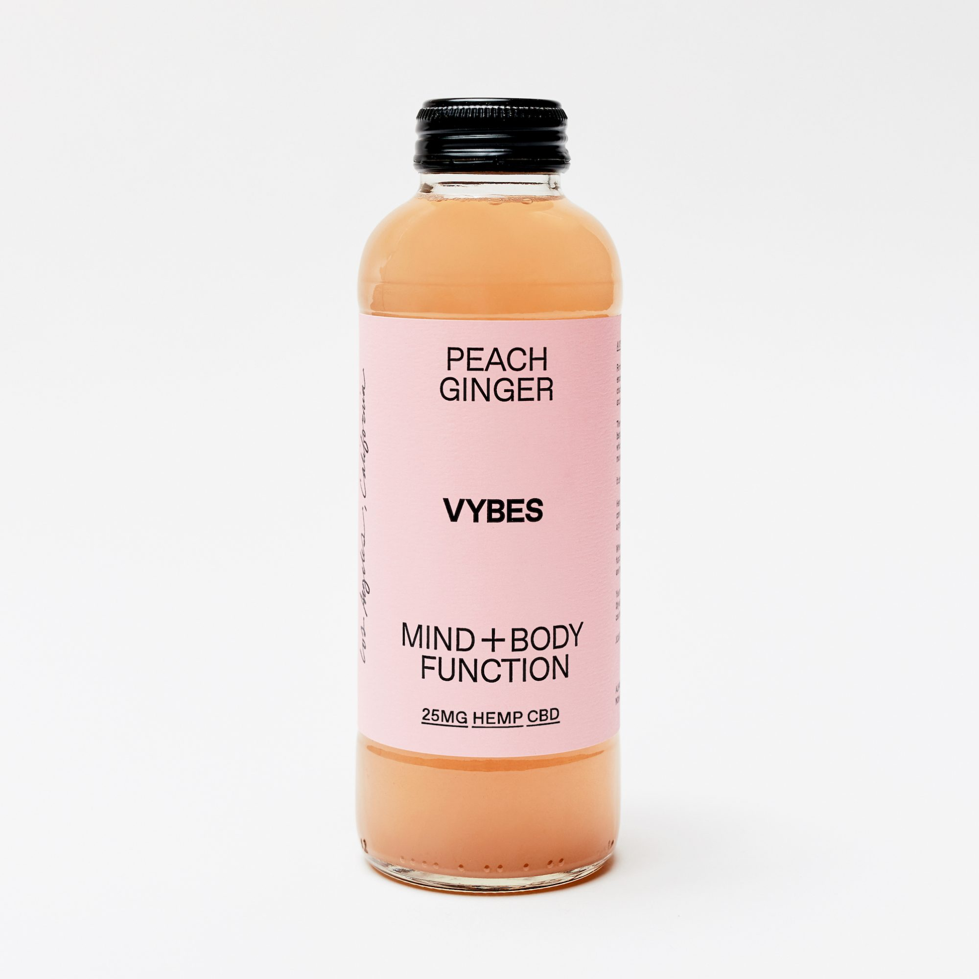 Peach Ginger VYBES - Peach Ginger (12pk)