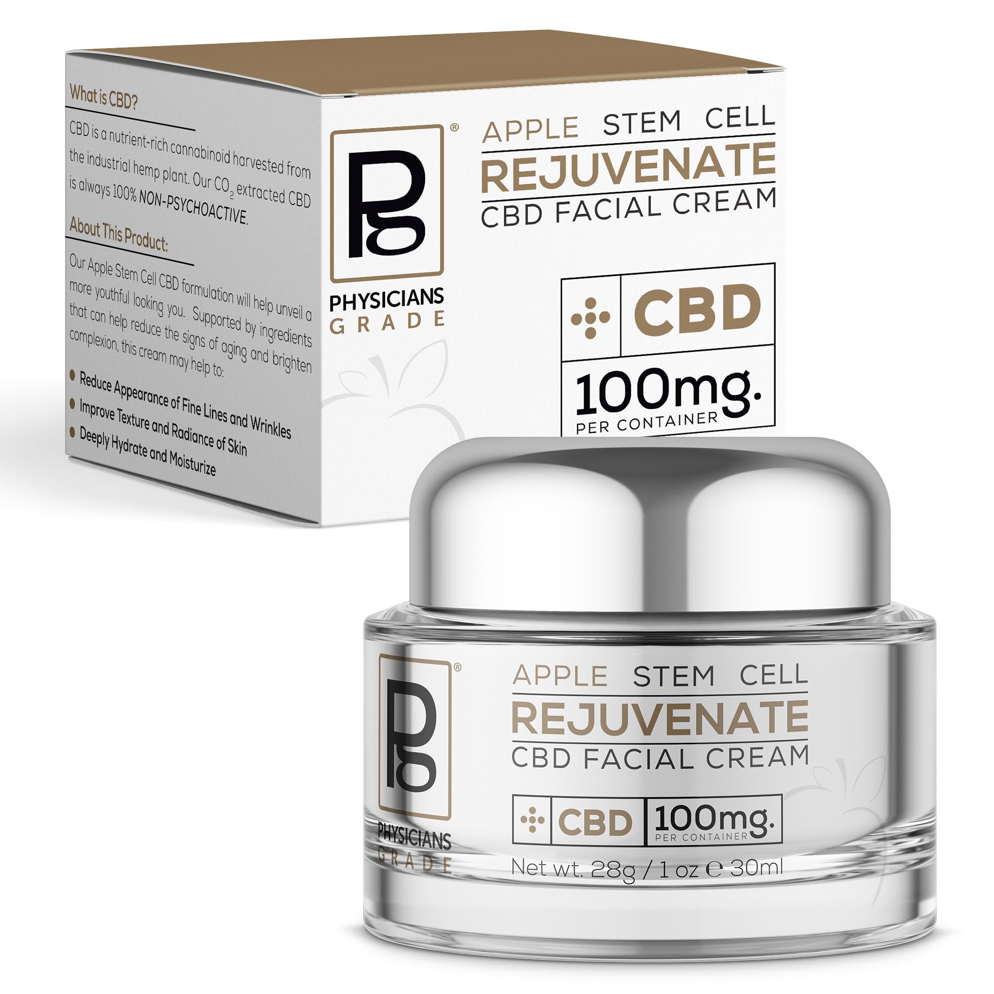 527505 AppleStem Cream - Apple Stem Cell Cream + 100mg CBD