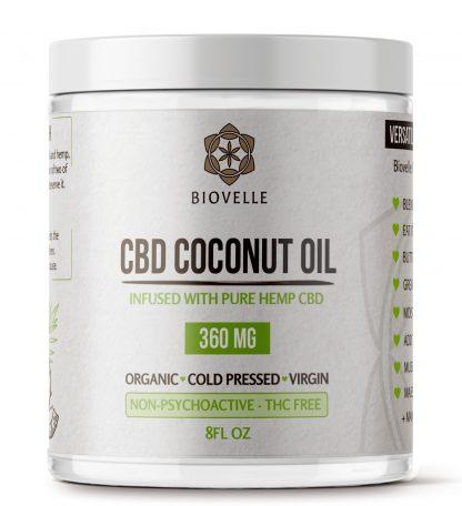 CBD Coconut Oil 8oz