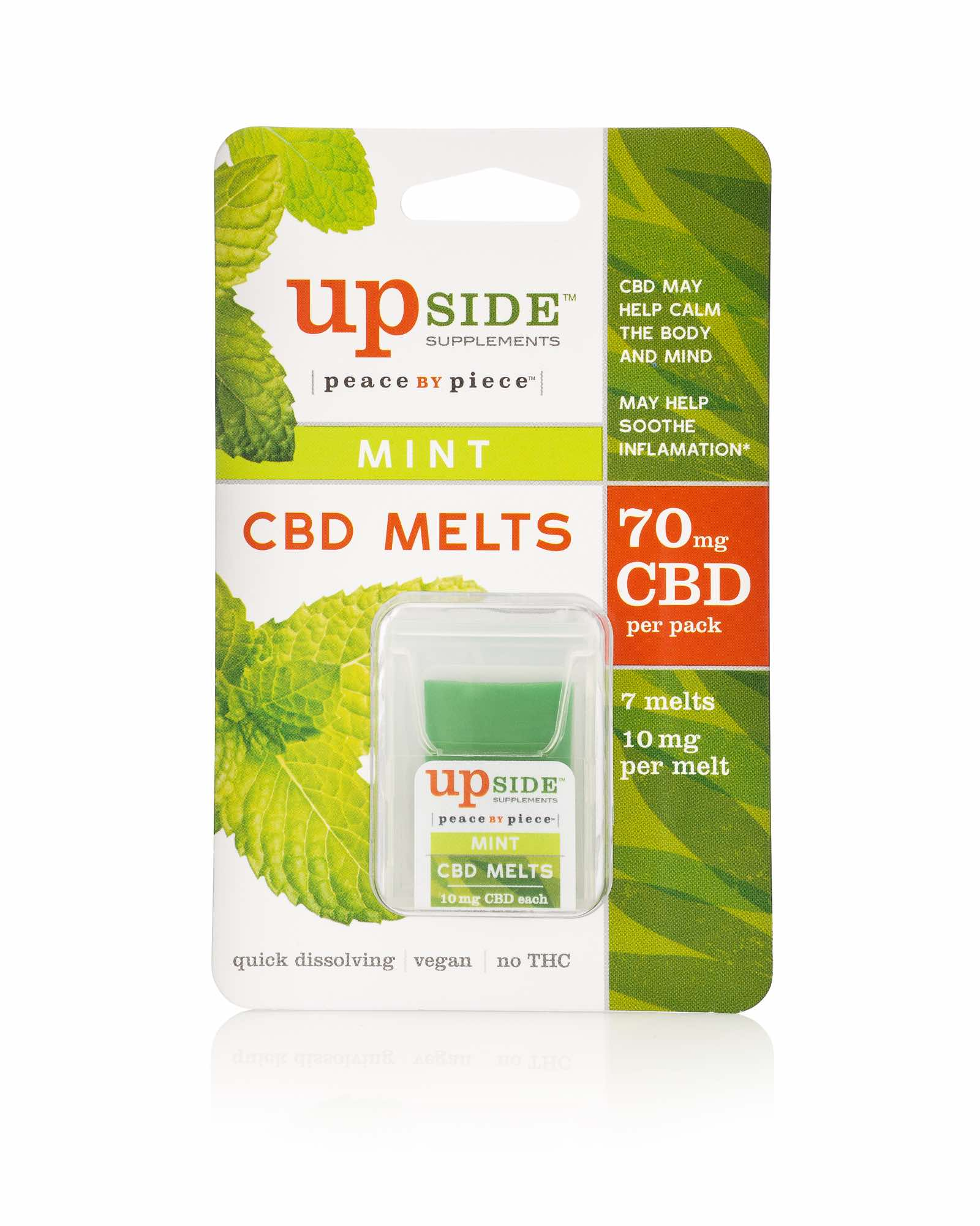 CBD Melts Package - CBD Mint Melts