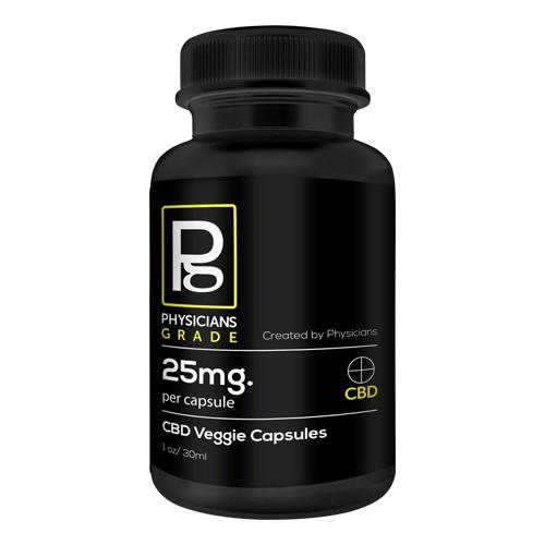 CBD RTI 25MG VEGGIE CAPSULES 1 - 1500mg – CBD Capsules (60 capsules)