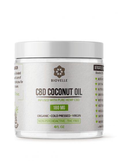 CBD Coconut Oil 4oz