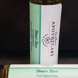 STRESS LESS CBD infused roll-on essential oil blend