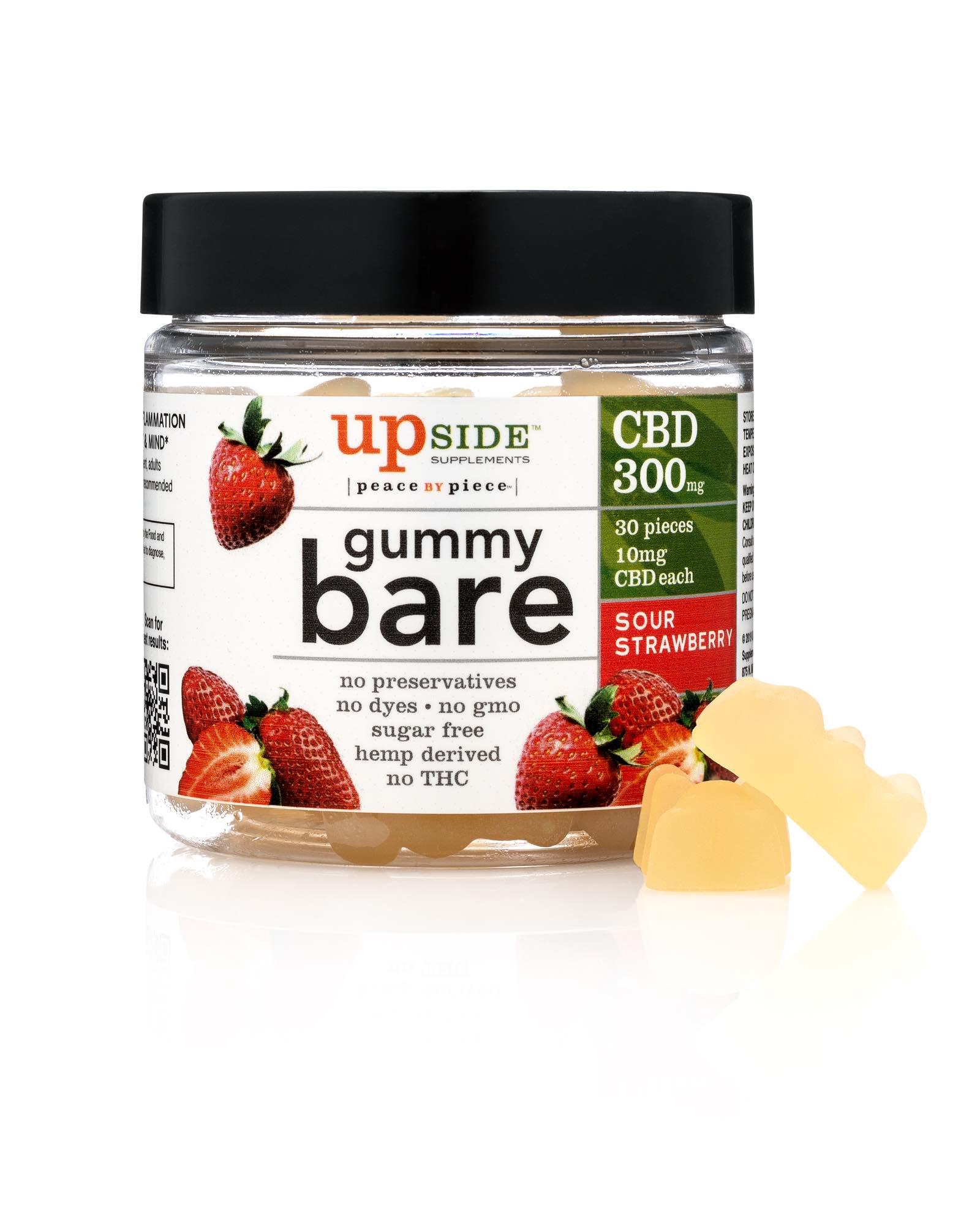 Strawberry Bare - Sour Strawberry Gummy Bares