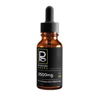 CBD Oil Tincture + 3500mg