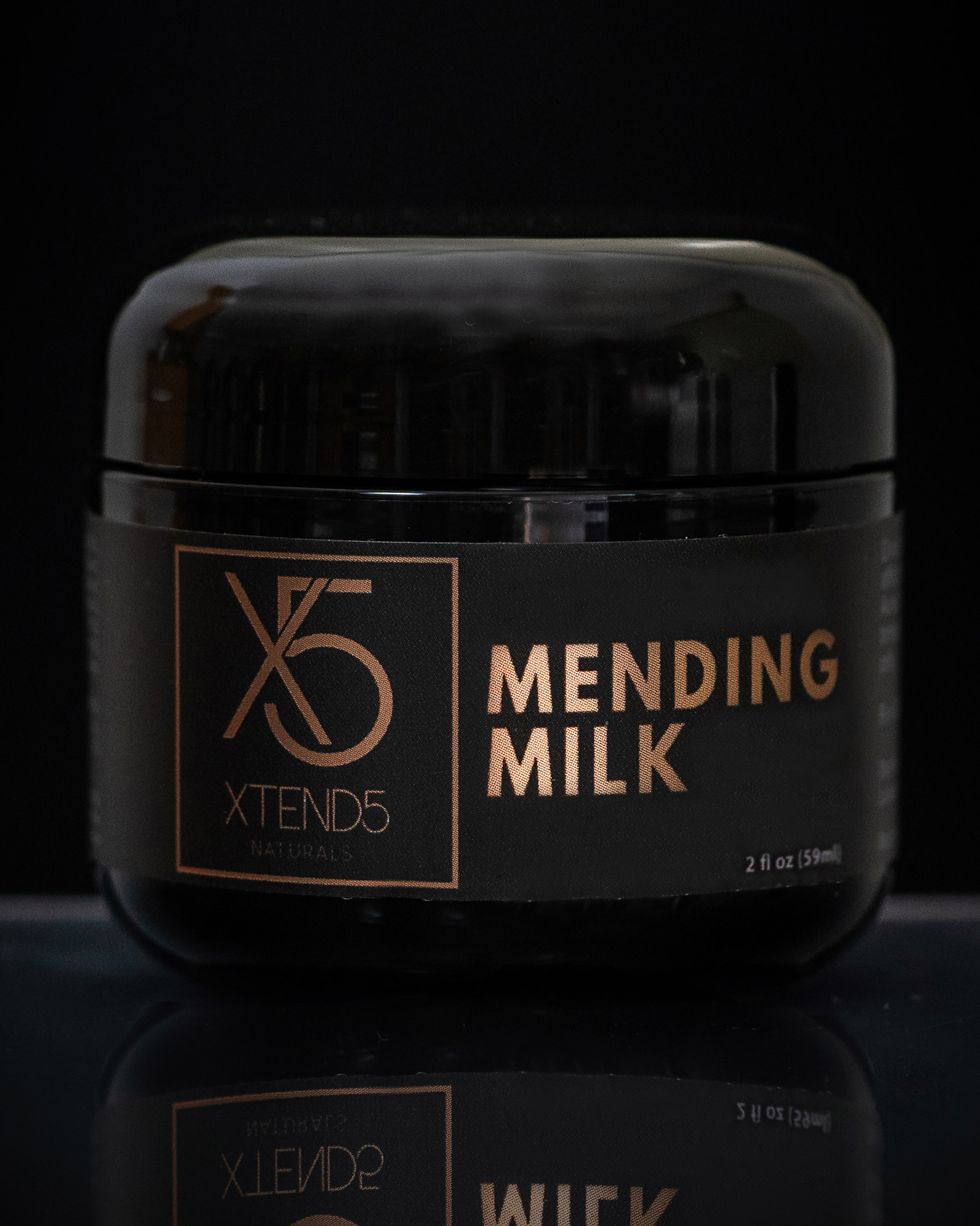 xtend5 mending milk 500mg 1 - 500mg CBD+ Cream