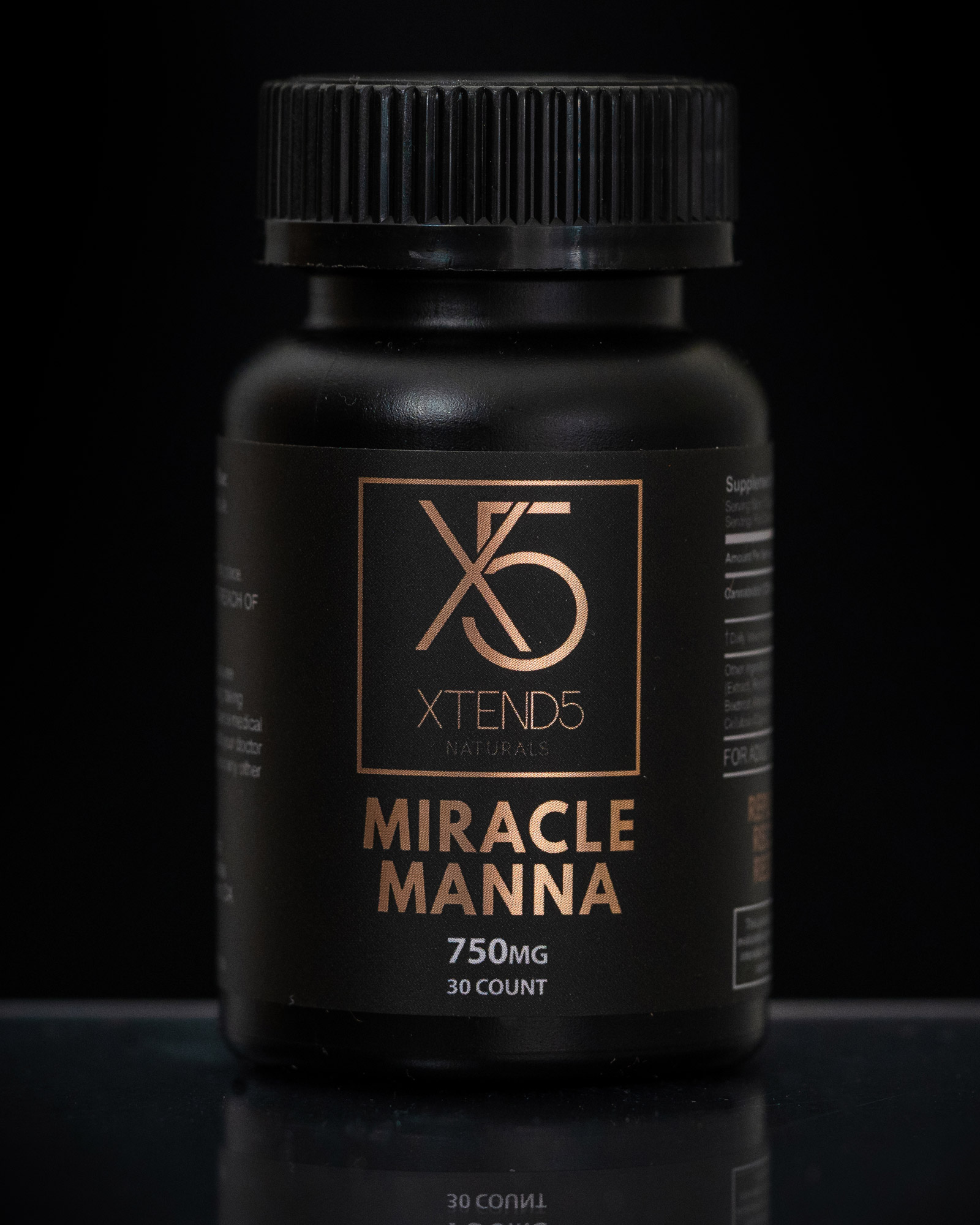 xtend5 miracle manna 750mg capsules - 750mg CBD+ Blend Capsules