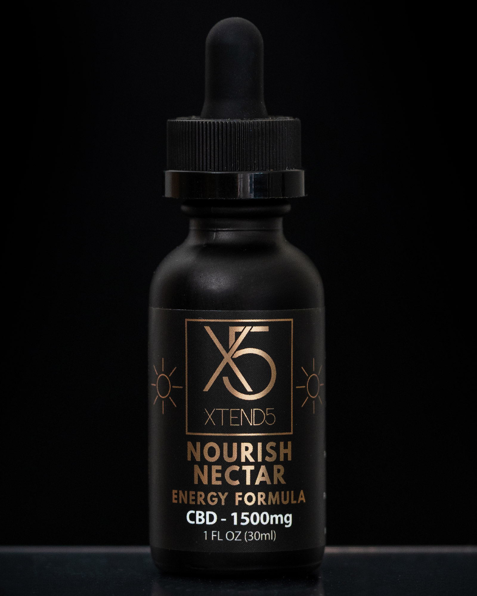 xtend5 nourish nectar 1500mg - 1500mg CBD+ Morning Blend Oil