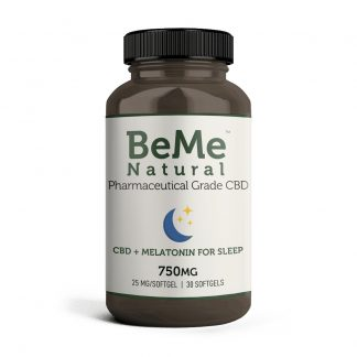 CBD Softgels – 750mg with Melatonin - <p>Support relaxation and healthy sleep with our CBD Softgels with Melatonin. Each convenient softgel combines our proprietary water-soluble nanoemulsion technology with melatonin, helping you find predictable and restful sleep.</p> <p>Each bottle contains (30) 25mg softgels (with 1mg of Melatonin) for a total of 750mg of CBD.</p> <p>Ingredients: Full Spectrum Zero(TM) Hemp Oil, Melatonin (Water Soluble), Polysorbate Emulsifiers, Medium Chain Triglycerides, Beta Caryophyllene, Roman Chamomile, Bovine-Derived Gelatin, Glycerin, Sorbitol and Water.</p>