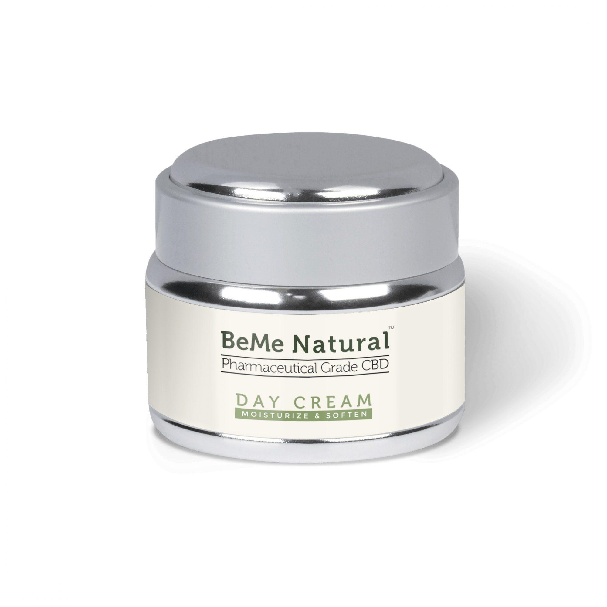 BeMeNatural Day Cream Rendering min - CBD Day Cream – 100mg