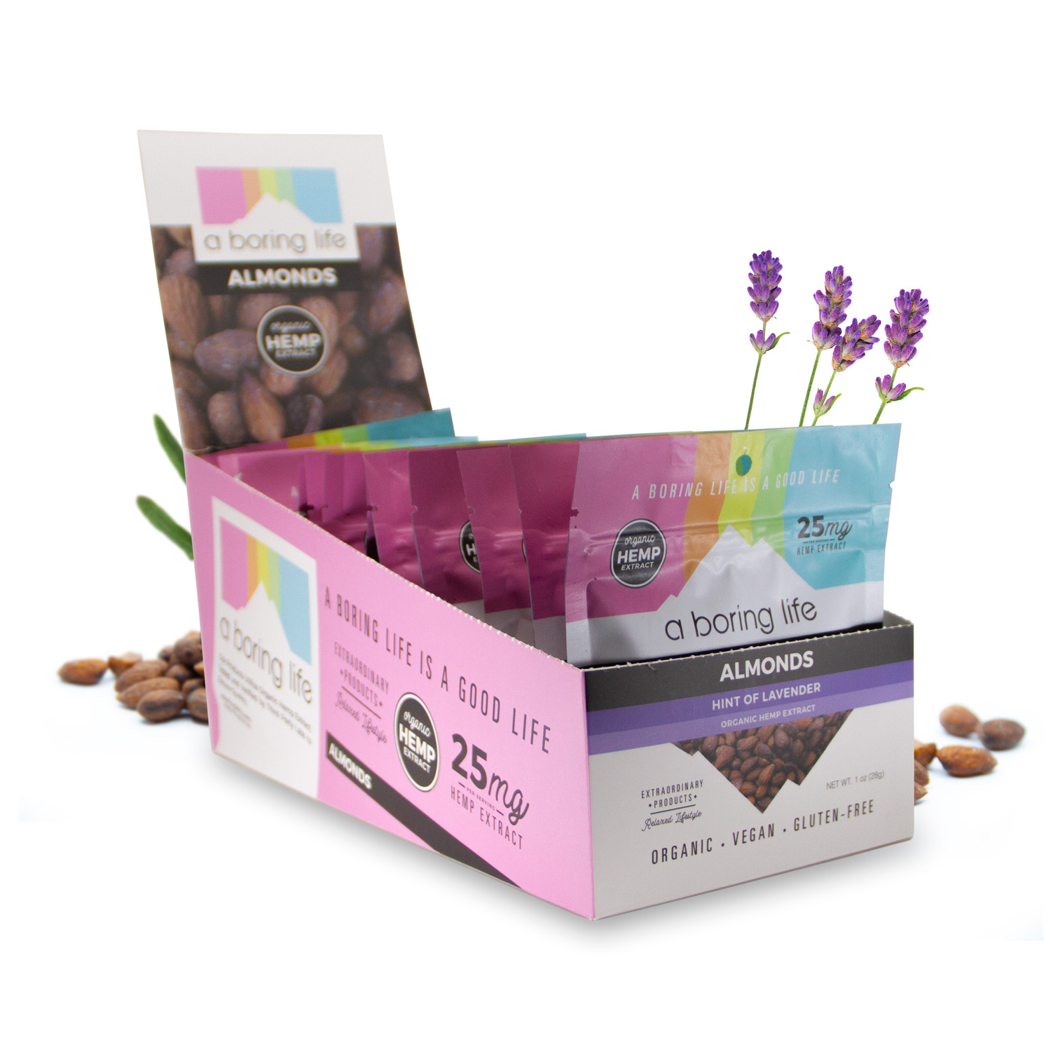 Case - Roasted Almonds with a Hint of Lavender, Case of 12