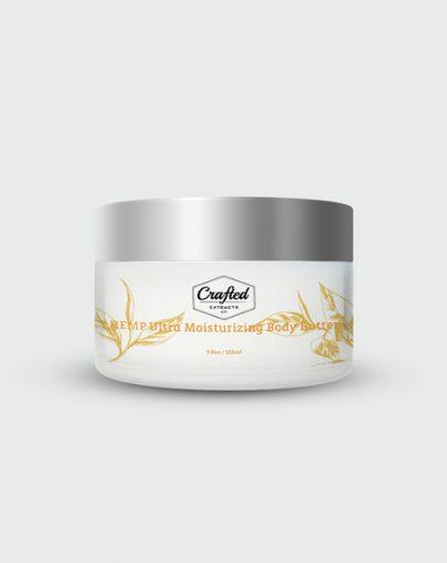 Crafted CBD Ultra Moisturizing Body Butter 3 8oz 405x510 - Ultra Moisturizing Body Butter