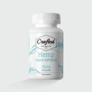 Hemp Liquid Capsules 25mg