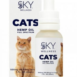 HEMP OIL TINCTURE FOR CATS