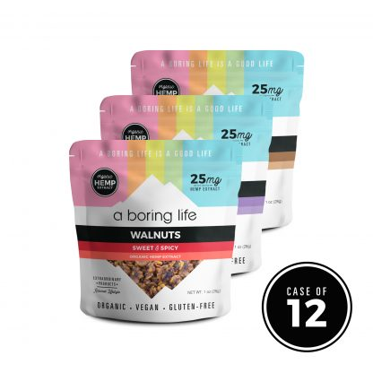 Variety Sampler – All Three Flavors of Nuts, Case of 12