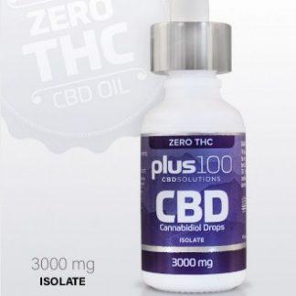 CBD Isolate Tincture Drops – 3000 mg