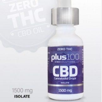 CBD Isolate Tincture Drops – 1500 mg