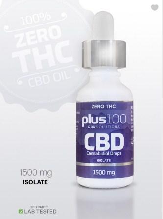 Screenshot 1 9 - CBD Isolate Tincture Drops - 1500 mg