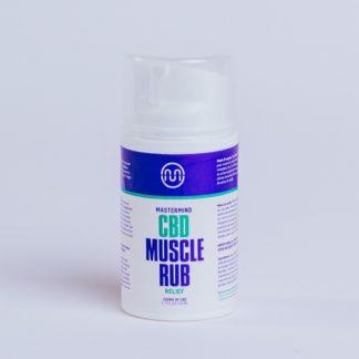 CBD Muscle Rub Regular Strength 200mg Menthol