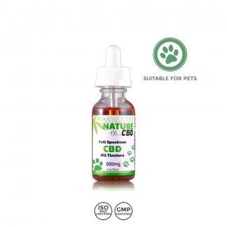 Full Spectrum 500mg CBD Oil for Pets – 30ml -